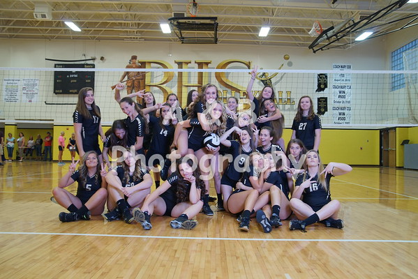 BHS Volleyball 2016-2017