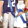 Trey Heidlage and Gabi Garci were named Homecoming Prince and Princess.