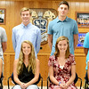 Christopher Aune | The Herald-Tribune<br /> The 2016 Batesville High School Homecoming Court Princess candidates are (front left) juniors Haylee Harmeyer and Gabi Garcia, sophomores Sophie Brown and Bea Amberger, and freshmen Ellie Cassidy and Liz Heidlage; and Prince candidates are (back left) juniors Zack Blomer and Ross Harmeyer, sophomores Trey Heidlage and Robert Raver, and freshmen Brayden Linkel and Luke Esser.