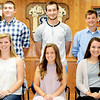 Christopher Aune | The Herald-Tribune<br /> The 2016 Batesville High School Homecoming Court Queen candidates are (front left) Carissa Werner, Nikki Eldins, Isabella Stange, Maddy Ketcham and Emily Muckerheide; and King candidates (back left) Peyton Meyer, Jacob Speckman, Alex Roell, Paul Ritter and Jacob Christie. All are seniors.