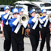Will Fehlinger | The Herald-Tribune<br /> The horns section toots out a tune as the Batesville High School marching band participates in the homecoming parade.