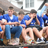 Will Fehlinger | The Herald-Tribune<br /> Future Bulldogs greet parade spectators Friday afternoon in downtown Batesville.