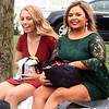 Will Fehlinger | The Herald-Tribune<br /> Senior queen candidates Ellie Cassidy, left, and Paige O'Dell are escorted along the homecoming parade Friday afternoon. Cassidy was later crowned 2019 Homecoming queen.