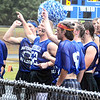 Will Fehlinger | The Herald-Tribune<br /> It was the Bulldog football team's turn to cheer during the annual powder puff game Friday at BHS.