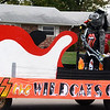 Will Fehlinger | The Herald-Tribune<br /> Is that a Bulldog posing as Gene Simmons? 'KISS the Wildcats goodbye' was the winning homecoming float for the Class of 2021.