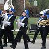 Will Fehlinger | The Herald-Tribune<br /> The Batesville High School marching band finds the groove during Friday afternoon's annual homecoming parade.