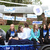 Will Fehlinger | The Herald-Tribune<br /> The Batesville High School volleyball team casts its net for the 2019 BHS Homecoming parade.