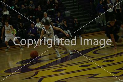 BHS Men's Basketball vs Hillsdale 1-6-15