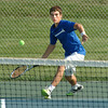 Staff photo by Bryan Helvie<br /> Easy win: Batesville High School senior Nick Kirschner was a winner in straight sets at No. 2 singles against Madison.