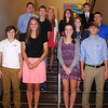 Christopher Aune | The Herald-Tribune <br /> Vying for homecoming prince and princess are (back row from left) juniors Aiden Bell, Karsen Worthington, Abby Roell and Charles Alley; (middle row) sophomores Will Sittloh, Abby Nunlist, Brett Williamson and Emily Massey (not pictured); (front row) freshmen Christian Prickel, Baylee Rohlfing, Audrey Amberger and Ridge Douglas.