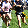 Christopher Aune | The Herald-Tribune<br /> Batesville High School senior girls (in white) beat the juniors in the powder puff game 21-7. Please see more homecoming photos on page 8 and online at photos.batesvilleheraldtribune.com.