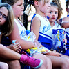 Christopher Aune | The Herald-Tribune<br /> Many young Bulldog supporters participated in their first parade Friday night.