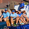 "Christopher Aune | The Herald-Tribune<br /> Batesville High School Class of 1989 friends wave from a float during the parade. Shelly Prickel (far right) reports, ""Our class had the special distinction of being the first senior class to play on the new football field.  We dedicated a rock commemorating this and in honor of two classmates we have lost since graduation on Friday night"" during homecoming."