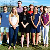 Debbie Blank | The Herald-Tribune<br /> Seniors (front row from left) Emma Gausman, Molly Wintz, Kelsey Huffner and Maddie Pierson have been nominated to be BHS homecoming queen and (back row) Christian Prickel, Tristian Lamppert, Quinten Gowdy and Will Harmeyer are vying for king.