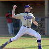 BASEBALL10.JPG BASEBALL<br /> Boulder's Walker Henry takes over pitching later in the game.<br /> Photo by Marty Caivano/Camera/March 31, 2010