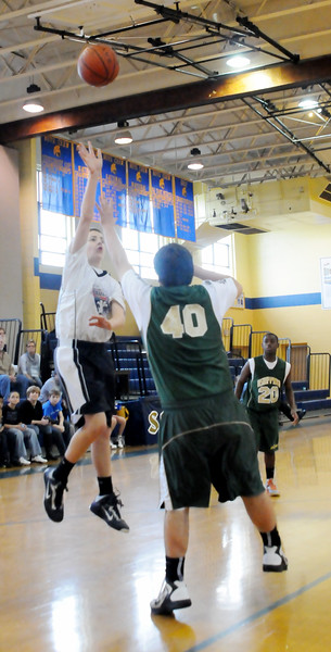 BISHOP MCHUGH VS ASSUMPTION -GALLOWAY, BOYS BASKETBALL , ABSECON NJ. 02/24/13