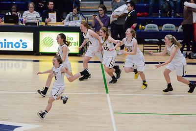 BK Girls Basketball State Semi-Finals 2017