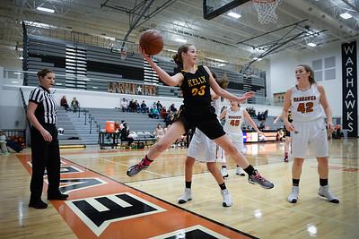 BK Girls Basketball vs Ridgevue 2017