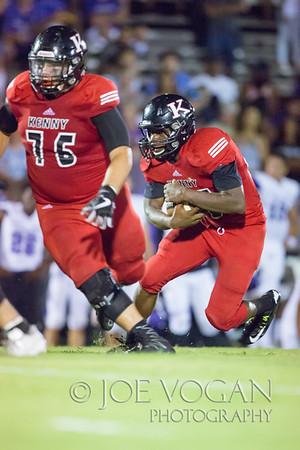 Fletcher H.S. vs. Bishop Kenny H.S.,  August 25, 2017, at Bishop Kenny High School,Jacksonville,Florida.  Bishop Kenny won the game 23-0