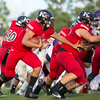 Fletcher H.S. vs. Bishop Kenny H.S.,  August 25, 2017, at Bishop Kenny High School,Jacksonville,Florida.  Bishop Kenny won the game 23-0
