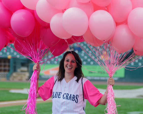21 July Blue Crabs vs Somerset Pink out the Park