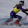 Record-Eagle/Jan-Michael Stump<br /> Traverse City West's Monica Hessler takes her first slalom run in the Titan Invite Thursday at Crystal Mountain.