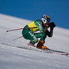 Record-Eagle/Jan-Michael Stump<br /> Traverse City West's Ryan Ness takes his first giant slalom run in the Titan Invite Thursday at Crystal Mountain.