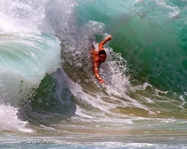 Shore Break Sandy Beach Oahu Hawaii