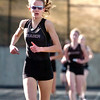 Sam Lewis of Boulder High School nears the finish line of the 1600 Meter during their meet against Fairview HIgh  at Recht Field on the Boulder High School Campus on Wednesday March 16, 2011<br /> Photo by Paul Aiken / The Camera