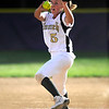 Monarch's #5 Kaitlyn Meska pitches during their game against Boulder on Monday at Boulder High School.<br /> Photo by Paul Aiken / The Camera