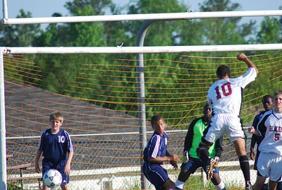 BRMS Boys Soccer v Richards