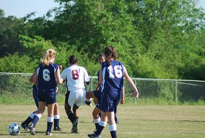 BRMS Girl's Soccer v Richards