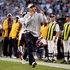 Denver Broncos head coach Josh McDaniels yells instructions on the sidelines during the second quarter of the NFL football game against the San Diego Chargers on Monday, Oct. 19, 2009 in San Diego. (AP Photo/Chris Park)