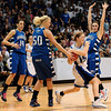 20110311_BKOL_BROOMFIELD_HADDOCK_BURGESSER.JPG Longmont's Tambre Haddock is fouled by Broomfield's Bre Burgesser late in regulation in the Class 4A Championship game at Coors Events Center in Boulder on Friday, March 11, 2011. (Joshua Buck/Times-Call)