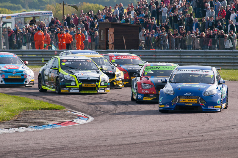 BTCC, Thruxton, May 2014