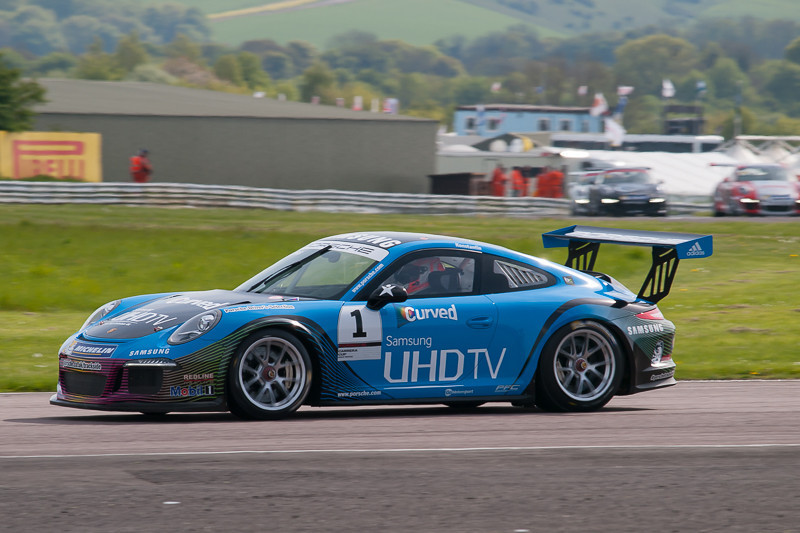 Michael Meadows, Porsche Carrera Cup Great Britain, Thruxton, May 2014