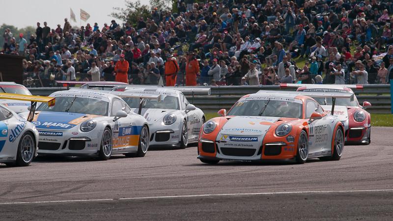 Porsche Carrera Cup Great Britain, Thruxton, May 2014