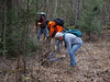 """Nipping is what most of the trail clearing is all about.  For more information about BWCA trail clearing trips, visit  <a href=""""http://www.bwac.homestead.com"""">http://www.bwac.homestead.com</a>.  Join us for the adventure!"""