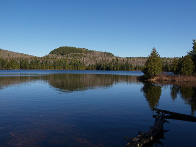 Volunteers will enjoy views like this one at Whale Lake on the way to Eagle Mountain.