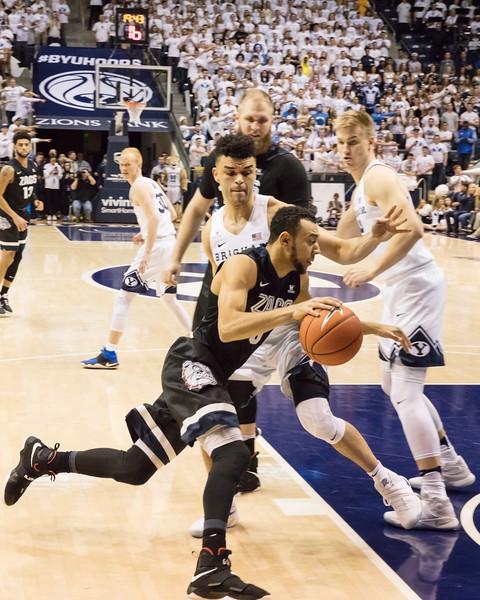 BYU vs Gonzaga basketball