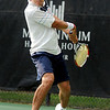 "Richard Johnson, of Boulder, backhands the ball while playing in the men's singles championship tennis match against Willie Dann, of Denver, on Sunday, Aug. 14, during the Babolat Boulder Open at the Millennium Harvest House in Boulder. Johnson won the match. For more photos of the men's and women's singles championship go to  <a href=""http://www.dailycamera.com"">http://www.dailycamera.com</a><br /> Jeremy Papasso/ Camera"