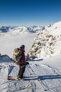 'The Wapta' - a magical day on the Wapta icefield last year mid Feb and warm(er) temperatures