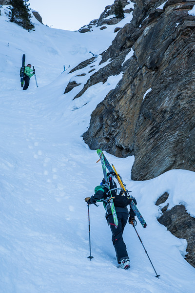 Crux on Mt Hector