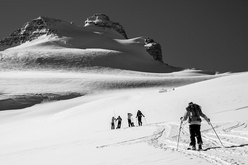 Mt Hector glacier