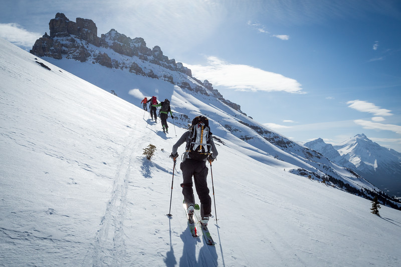 Heading up to the Dolomite