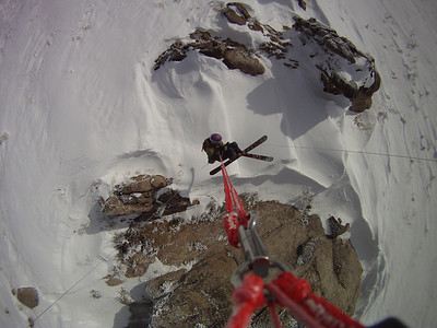 Backcountry kiting