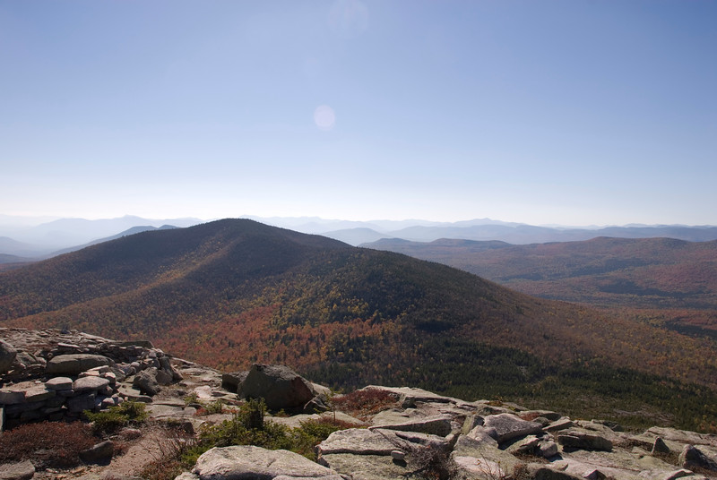 2:37pm at the summit - elapsed time: 3:23 minutes - approximate elevation gain: 3,100 feet