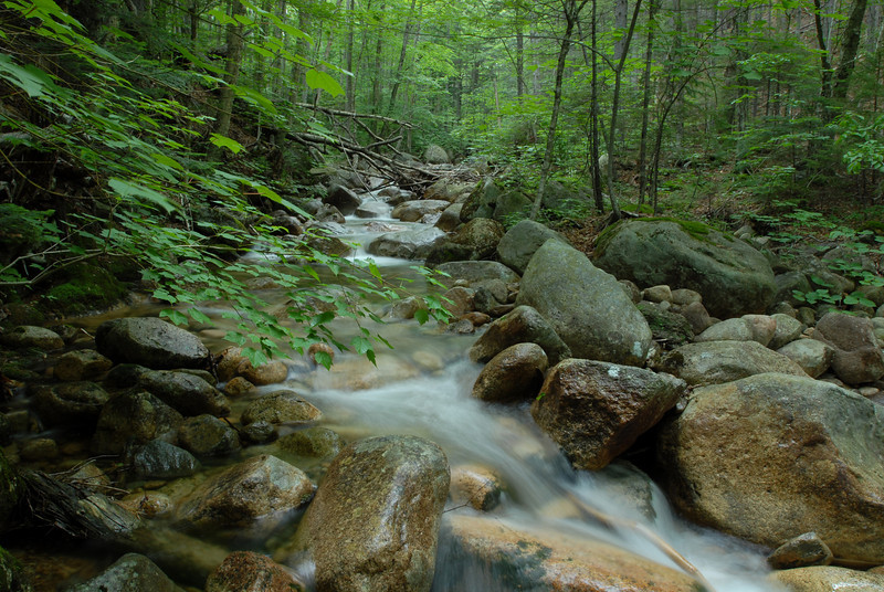 some timed exposures of the water flowing along this stream