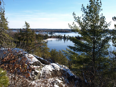 View from northside of Snowbank Lake