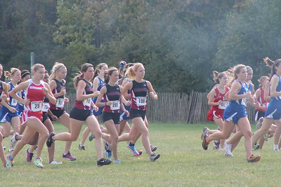 Badger Cross Country-Parkside 9.29.12